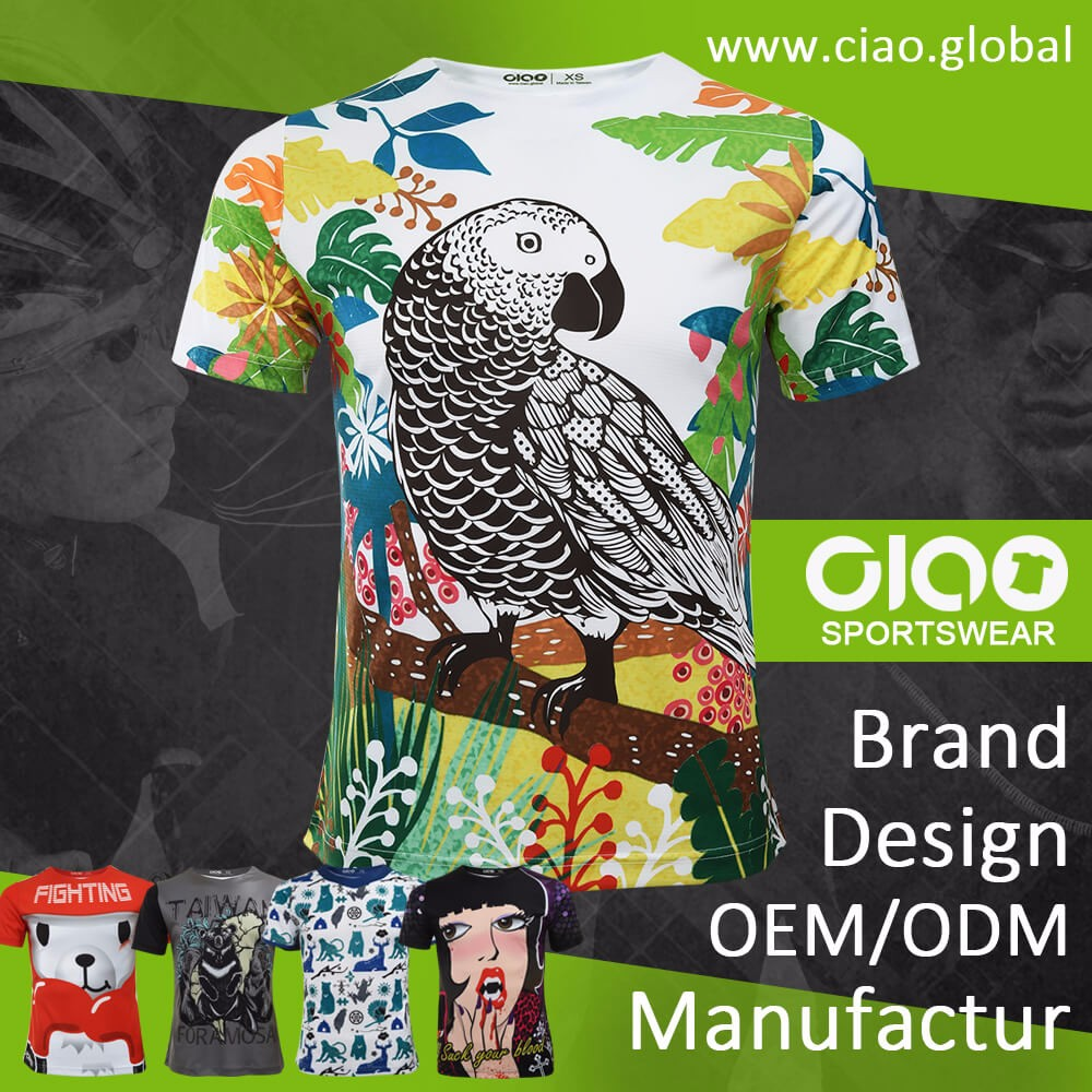 Ciao sportswear buy chinese products online sublimation printing fruit of the loom t shirt for sport