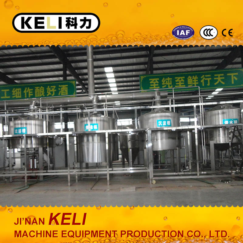 10 T 50T 1000 T big beer plant beer produce beer brewery factory