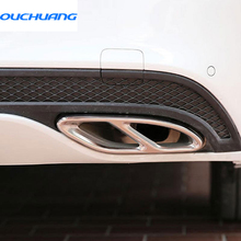 For Mercedes benz e class W213 Exhaust Pipe Tail Cover Trim