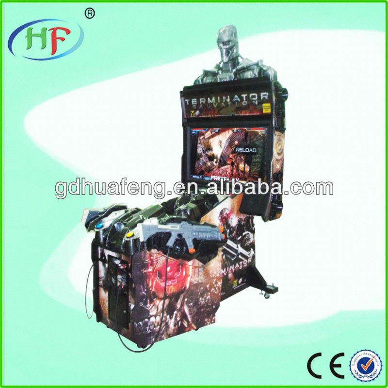 Terminator Salvation arcade machine/ 4d shooting game machine