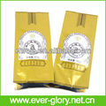 OEM eco-friendly foil plastic valve hemp coffee bags
