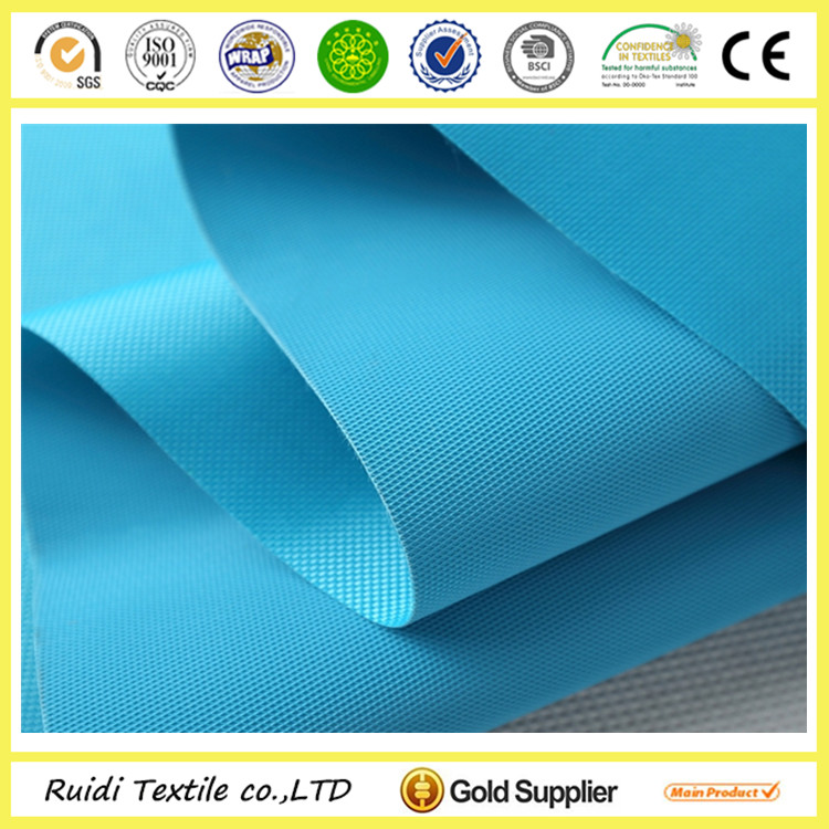 waterproof fireproof polyester oxford pvc tent fabric