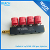 LPG CNG LPG duel fuel common rail injector shim for ECU lpg cng