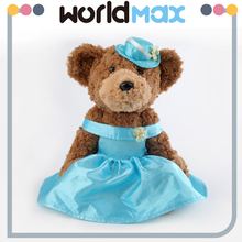 Online Shopping 36+months Baby Toy Lovely Evening Dress Teddy Bear Plush Toys