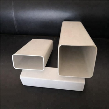 China manufacturer Supply 4 inch pvc square rectangular pipe tube