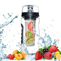 china mlife 2017 new wide mouth fruit and water bottle plastic with custom logo