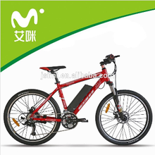 36v lithium battery electric bycicle with pedal