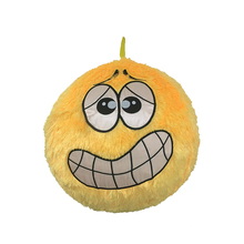 Giant Emoji plush inflatable ball with embroider expression