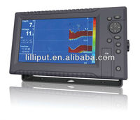 "Lilliput 9"" 200 KHz Single Frequency Dual Channels LCD Depth Finder"