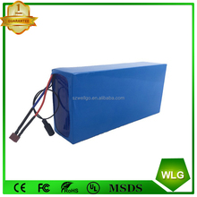 rechargeable Electric bike Golf Cart lithium battery 48v 8.8ah 13s4p 18650 Li ion Battery Pack