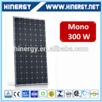 low price high efficiency photovoltaic mono 300w panel solar energy 24v monocystalline 300w solar panel