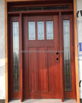 residential exterior entry doors with craftsman decorating sidelights