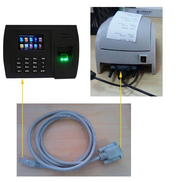 Fingerprint Scanner And Time Attendance with Webserver or ADMS