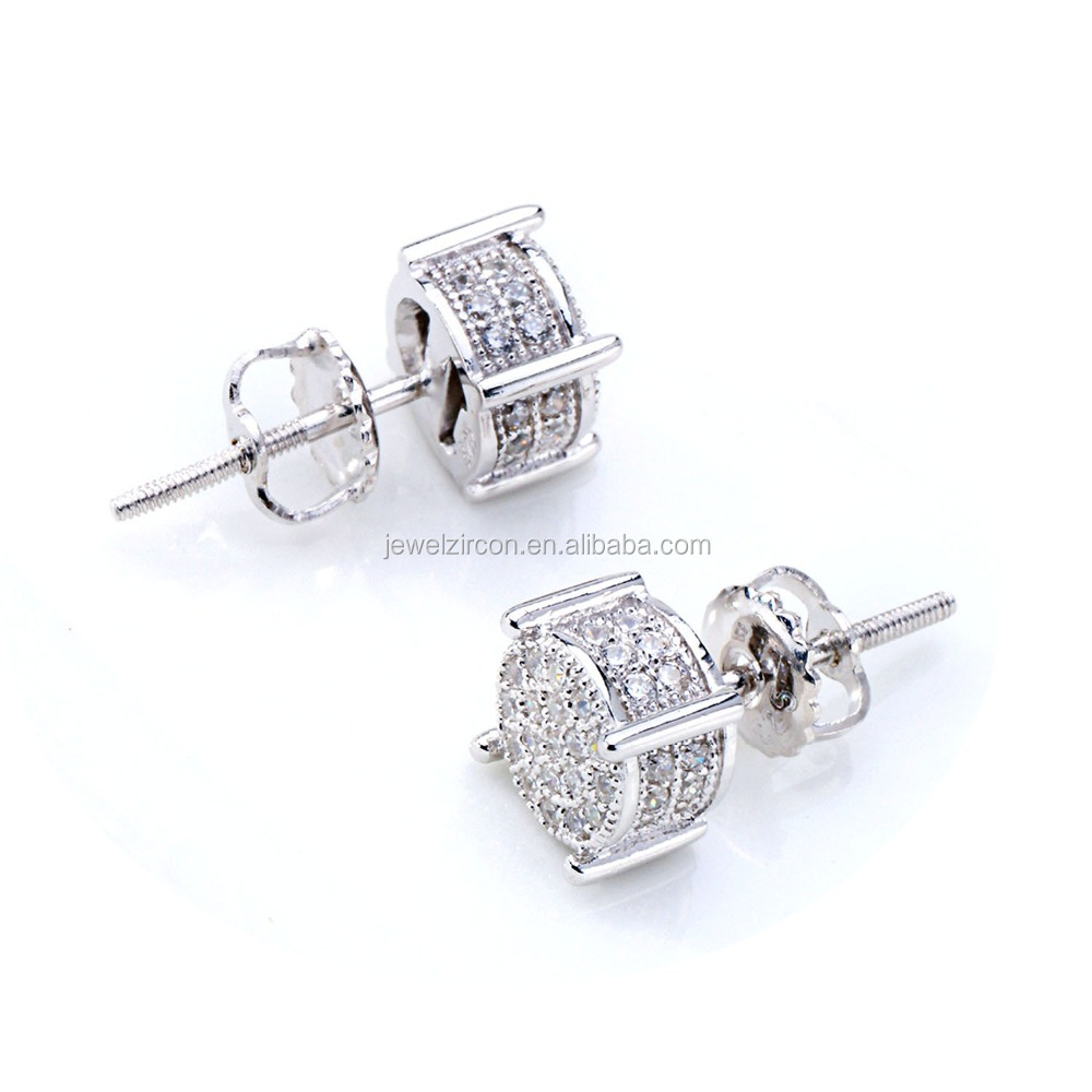 Hot Sale Fashion Jewelry 925 Silver Christmas Earrings for Women
