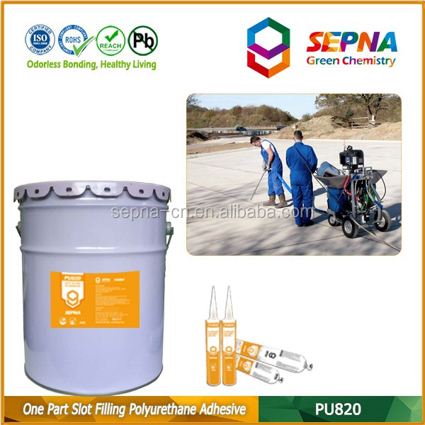 Economic Waterproofing Joint Sealant for Parking Lot / Industrial Factory / Driveway / Sideway / Taxiway / Road Sealant