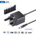 New Universal 5.25V 18W MAX Ac Dc Switching Power Adapter CE RoHs