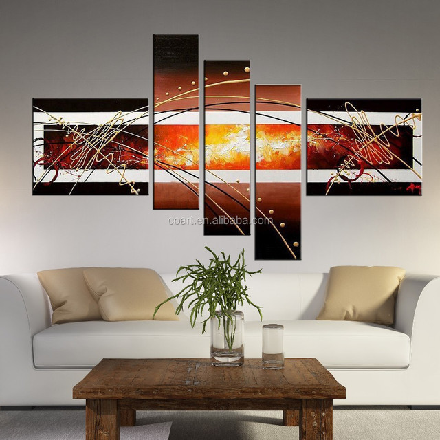 oil painting decorative pictures for living room