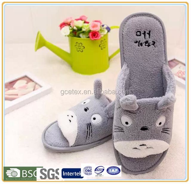 GCE923 Kids sole of slipper shoes korea with silicone slippers 2015