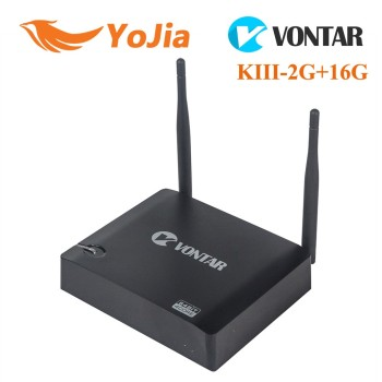 [Genuine] Android 5.1 Lollipop VONTAR KIII Amlogic S905 K3 4K Quad Core Google play Media player tv box