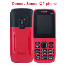 DONOD /SONOC C1 Unlocked low end Cheap Phone 2.0 inch MP3 Video FM Radio.java game bar phone