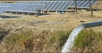 Solar tubewell pump for agriculture irrigation in Pakistan