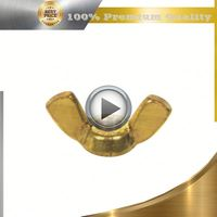 brass brass pipe fitting cap nut