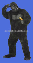Crazy california costume men's adult Gorilla cosplay costume