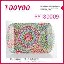 FOOYOO FY-80009 BAMBOO TEA TRAY SERVING BED TRAY/PLATES