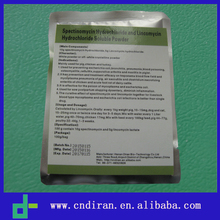 Animal Drugs Suppliers Sale Antibiotics for Broilers Spectinomycin Lincomycin Hcl Powder