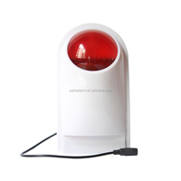 Wireless Outdoor Siren Flash Strobe Light