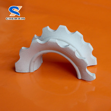 New Type Ceramic Super Intalox Saddle for Tower Filling Packings