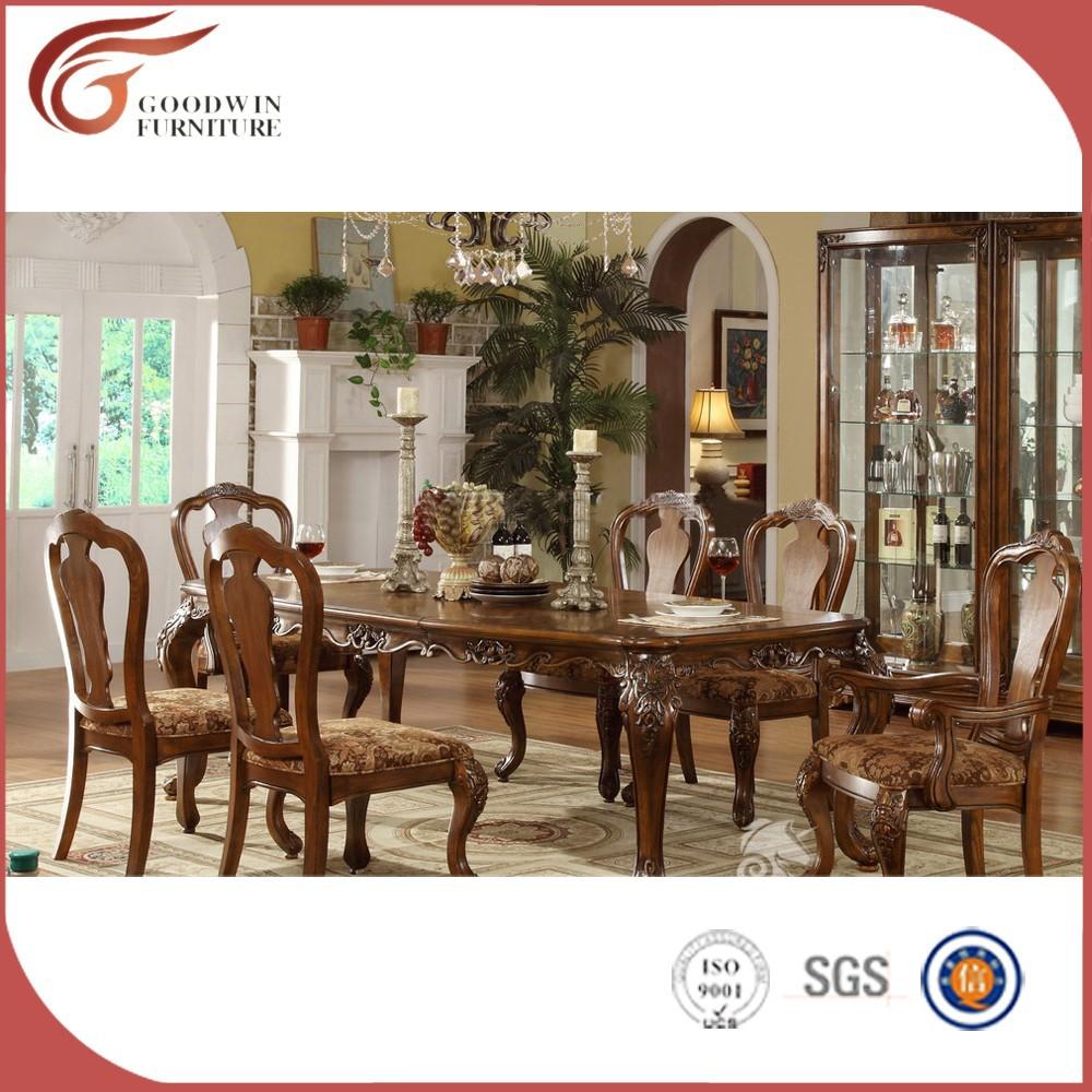 Salle a manger style baroque nouveaux mod les de maison for Chaise de salle a manger style baroque