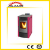 energy saving 8kw small mini wood pellet fireplace for indoor heating