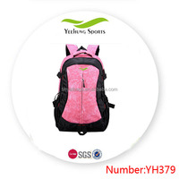 Fashion outdoor backpack ladies polyester Korean backpack for school