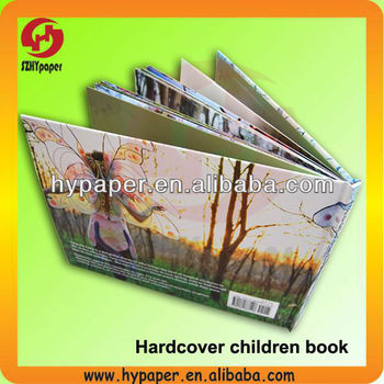 Hard cover full color book printing/hardcover board book