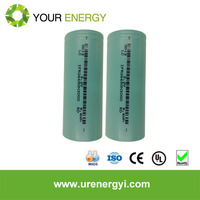 rapid discharge lifepo4 26650 cylindrical energy cell with low self discharge