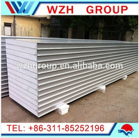 18kg/m2 High density EPS sandwich panel / wall panel and roof panel / metal building material