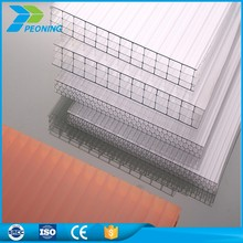 10mm plastic panel multi wall polycarbonate hollow sheet greenhouse
