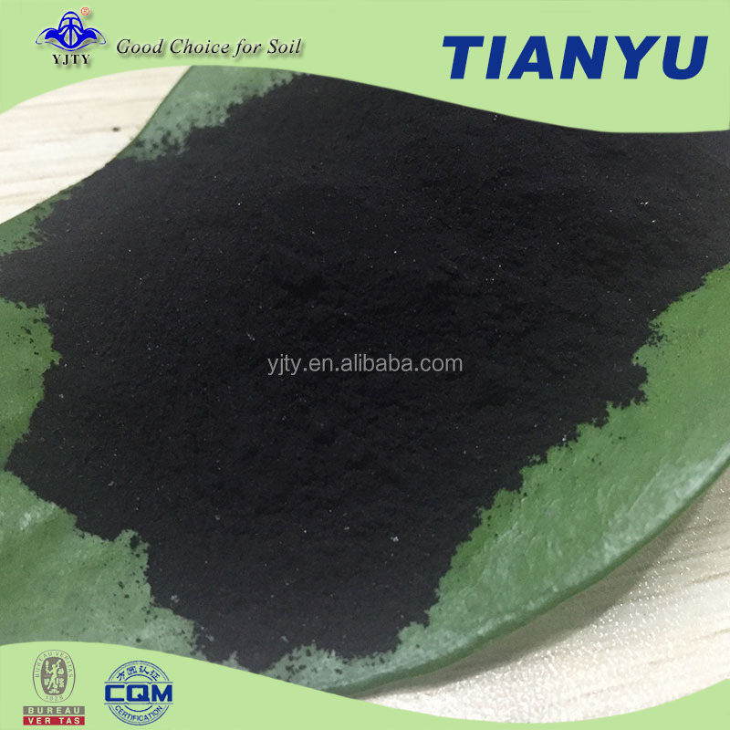 Top sale black powder 60% super potassium humate