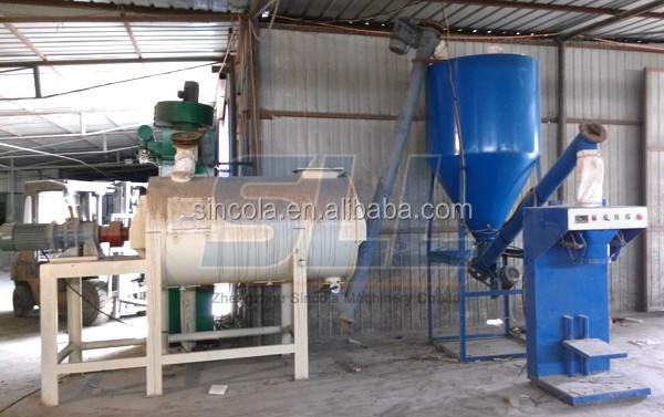 premixed simple dry mortar production pant low cost less occupation area