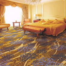 Axminster wall to wall hotel lobby flooring carpet