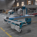 45 degree and 90 degree sliding table wood saw cutting machine precision panel saw