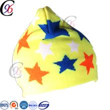 Chengxing new style cheap top quality wholesale winter warm kintted outdoor baby hat
