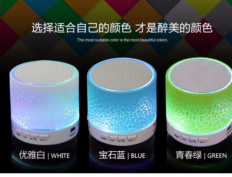 New mini S10 bluetooth speaker Home Audio wireless player player support TF card portable Bluetooth audio