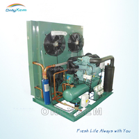 Chiller condensing units r134a , open type compressor condensing unit