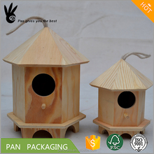 Wooden Bird's Nest factory custom cheap sale lovely high quality antique pet cage/bird house