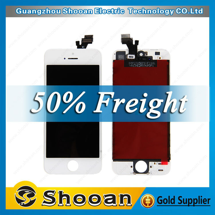 Hot selling recycle broken lcd screen for iphone 5