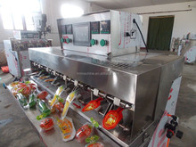 small juice production machinery for filling and sealing plastic bag