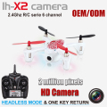 headless mode 2.4G 6axis mini rc drones most popular toys with camera