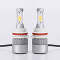 High low beam/single beam 3 surface light h4 car led headlight bulbs with good decoding feature